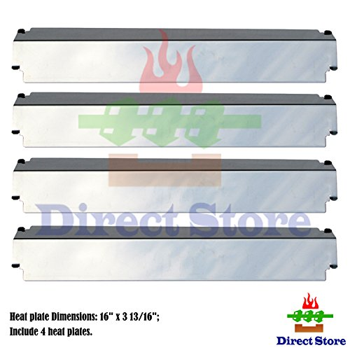 Kenmore Gas Grill Models Stainless Steel Heat Shield // Heat Plates Replacement Charbroil Direct store Parts DP126 Stainless Steel 4-pack Thermos
