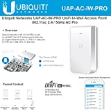 Ubiquiti Networks UniFi In-Wall Access Point UAP-AC-IW-PRO 802.11ac 2.4 / 5GHz AC Pro