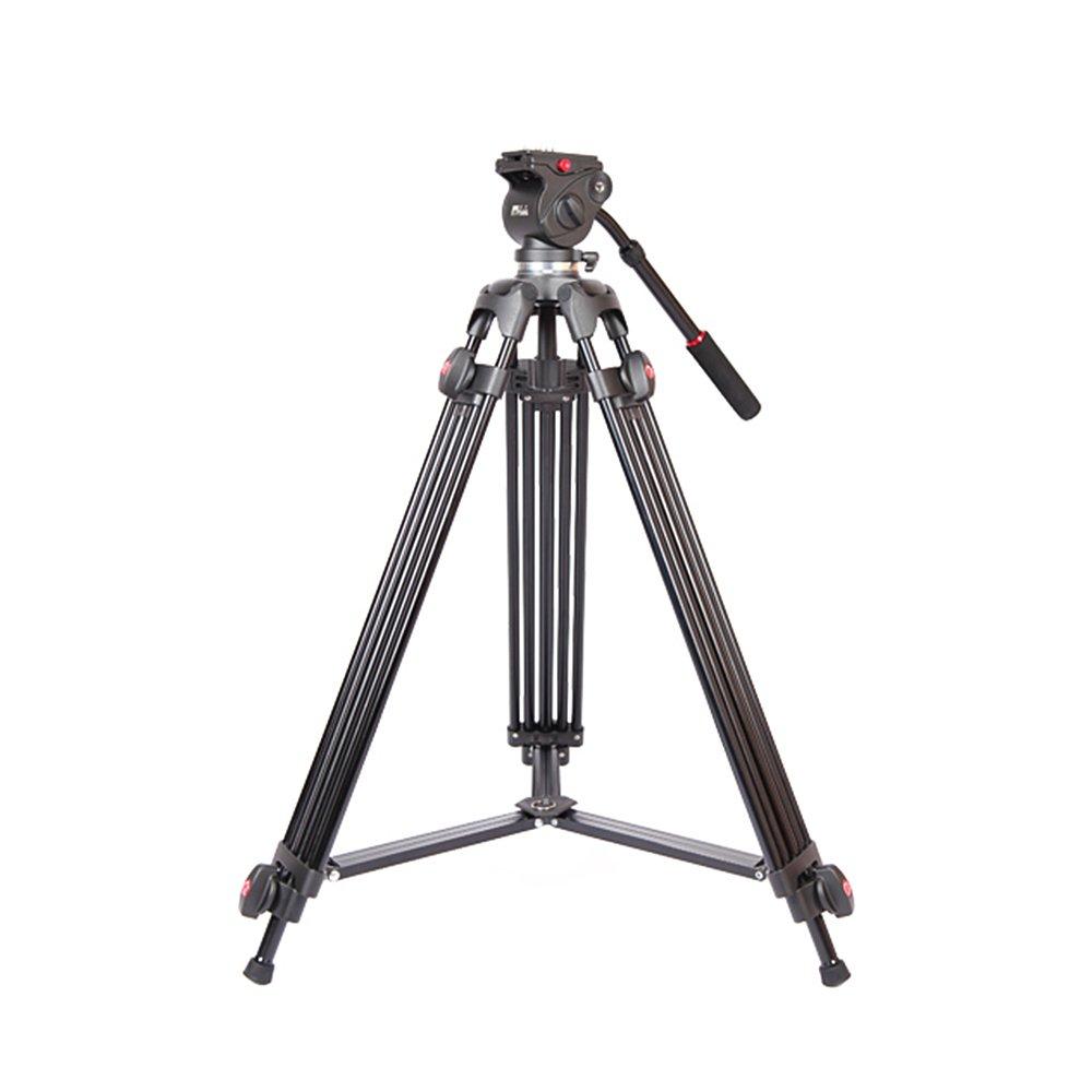 Andoer ®折りたたみ式アルミ製伸縮式合金デジタル一眼レフカメラビデオカメラビデオ三脚流体ドラッグヘッドパッド入りバッグ付きjy0508 a 1.5 M   B016QAKX68