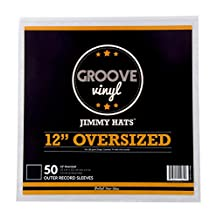 Groove Vinyl 12 Inch Gatefold LP Premium Outer Record Sleeves (50 Pack)