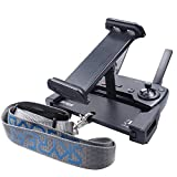Skyreat Upgrade Aluminum-Alloy 4-12 Inches Foldable Tablet Ipad Mount Holder with Metal Nut Ring for Mavic 2 Pro,Mavic 2 Zoom/Mavic Air/Pro/DJI Spark Remote Controller