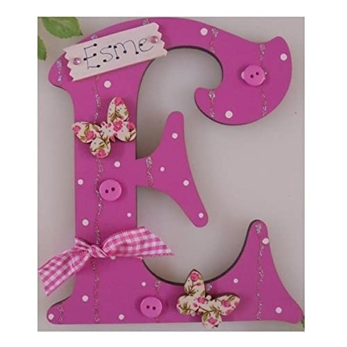 Personalised U0027*ANY LETTER With Any Name Available*u0027 Butterfly Childs Kids  Bedroom Name