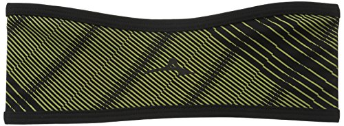 Mizuno Running Breath Thermo Windproof Headband, Limeade, One Size