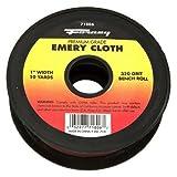Forney 71806 Emery Cloth, 320-Grit, 1-Inch by 10-Yard Bench Roll