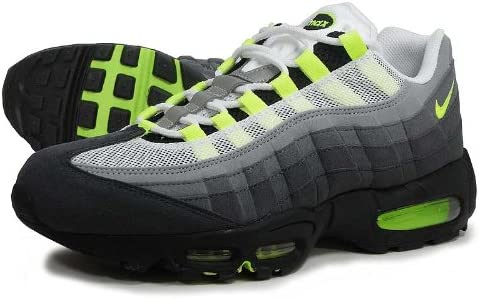 Amazon Com Nike Air Max 95 Og Pack White Neon Yellow Blk Anthracite 9 Fashion Sneakers