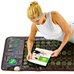 HealthyLine Far Infrared Heating Mat - Hot Stones Jade Tourmaline - Negative Ions - Mesh JT Mat Full 7224 Soft Light InfraMat Pro®