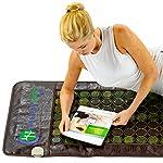 HealthyLine Far Infrared Heating Mat - Hot Stones Jade Tourmaline - Negative Ions - Mesh JT Mat Full 7224 Soft Light InfraMat Pro®
