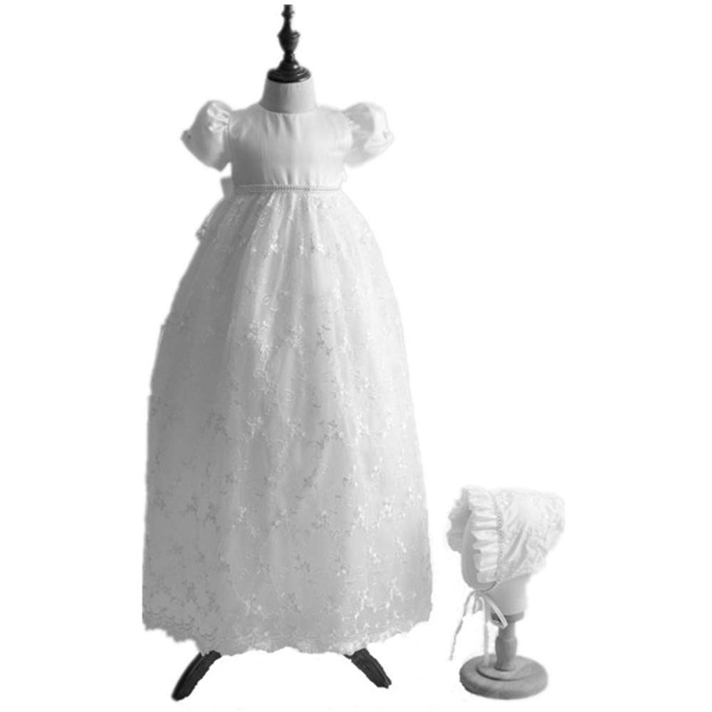 Selene Classical Embroidery Lace Christening Gown Baby Girls Formal ... 441748ea7