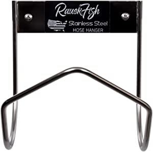 Rauckman Utility Products Stainless Steel Hose Rack Holder