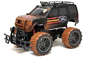 New Bright 31074 Mud Slinger Land Rover - Vehículo radio control miniatura (escala 1:10) [importado de Alemania]