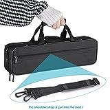 Neewer® Durable Water-resistant Gig Flute Bag with Adjustable Single Shoulder Strap Pocket Cotton Padded for Concert Flute