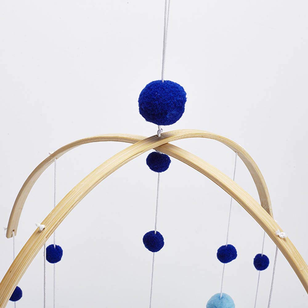 Gr/ün Moonvvin Baby Rasseln Mobile Holzperlen Windspiele Glocke Baby Spielzeug f/ür Kinderzimmer Bett H/ängen Zelt Decor Fotografie Requisiten Geschenke