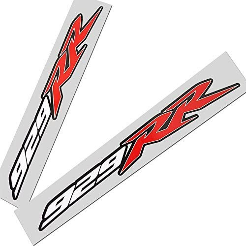 Fireblade CBR 929 RR Red White Black motorcycle stickers graphics x 2