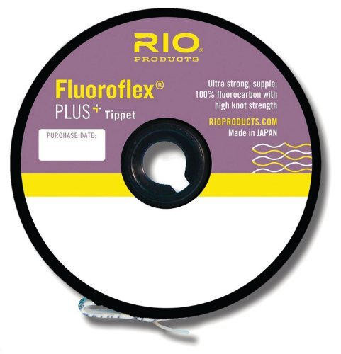 Rio Fly Fishing Tippet Plus Tippet 30yd 5X-5Lb Fishing Tackle, Clear Review