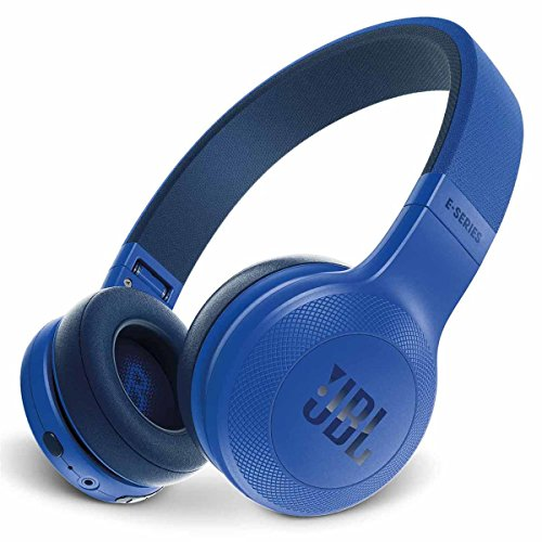 JBL E45BT On-Ear Wireless Headphones (Blue)