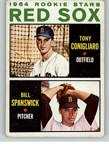 1964 Topps #287 Tony Conigliaro Red Sox VG-EX 333938 Kit Young Cards