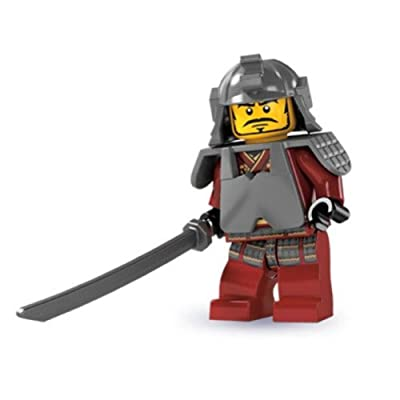 LEGO Minifigure Collection Series 3 : Samurai Warrior - LOOSE: Toys & Games