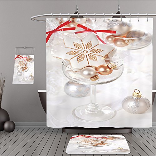 Uhoo Bathroom Suits & Shower Curtains Floor Mats And Bath Towels 37604956 Small gingerbread gifts for guests for Christmas dinner For - Macy's Gift Card Value