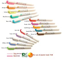 Zebra Mildliner Soft Color Double-Sided Highlighter Pens Deep, Warm & Cool (3 Pack Sale)
