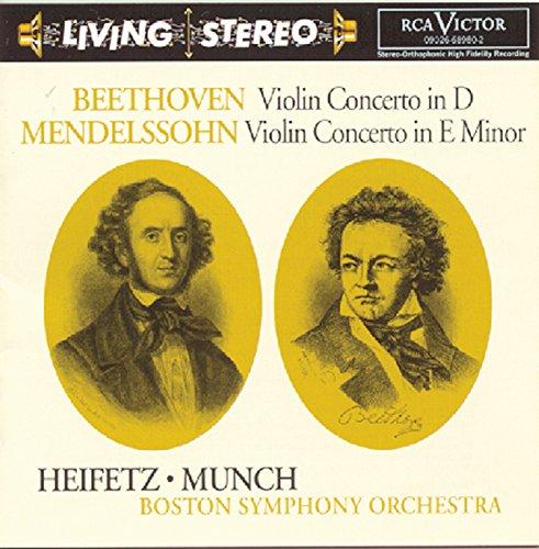 Beethoven: Violin Concerto; Mendelssohn: Violin Concerto