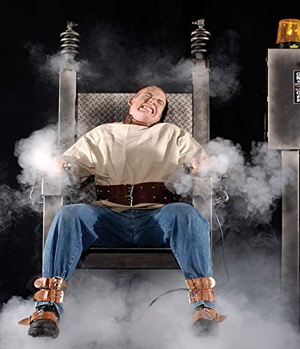 BACK FROM THE GRAVE Hot Seat Animated Haunted House Halloween Horror Prop ()