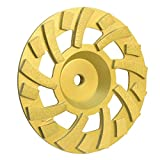 PROLINEMAX 7'' x 5/8''-11mm Super Turbo Hard Concrete Grinding Diamond Cup Wheel 18 Segments