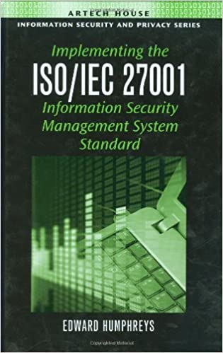 Implementing the isoiec 27001 information security management implementing the isoiec 27001 information security management system standard 1st edition fandeluxe Gallery