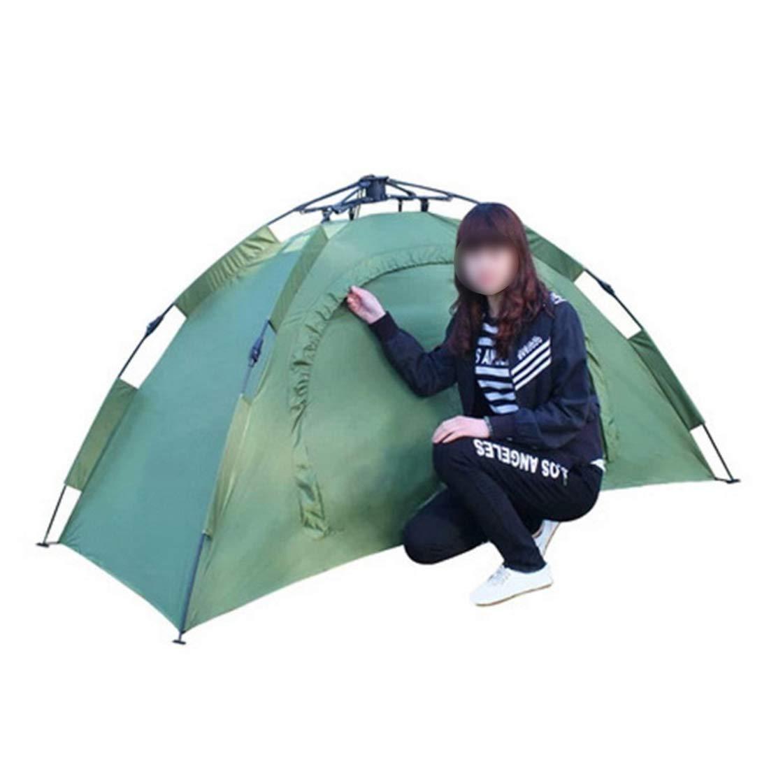 JANFELICIA 1 Person automatisches Zelt für Camping im Freien (Farbe : Grün)