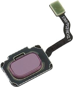 Fingerprint Recognition Home Button Menu Sensor Key Flex Cable Replacement Parts for Samsung Galaxy S9 G960 / S9 Plus G965 (Purple)