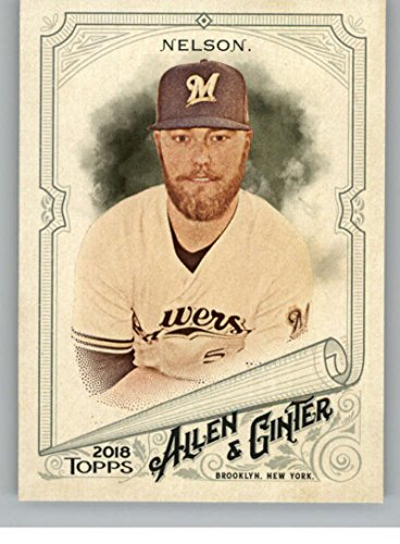 2018 Topps Allen and Ginter #122 Jimmy Nelson Brewers Baseball Card