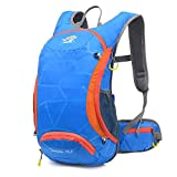 Xjamus 15L Lightweight Hydration backpack for Cycling Running Hiking with Night reflective strips