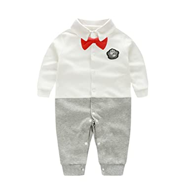 f2c3a9b2286 Fairy Baby Baby Boy Outfits Gentleman Formal Outfit Long Sleeve Clothes