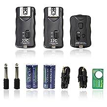 JJC JF-G2P 2.4GHz Wireless Remote Flash Trigger 2 Receiver for Canon 580EX II 580EX 540EZ 520EZ 430EX II 430EX 430EZ 420EX 420EZ 380EX Nikon SB-900 SB-800 SB-600 SB-28 SB-27 SB-26 SB-25 SB-24 Olympus FL-50R FL-50 FL-36R FL-36 Pentax AF-540 FGZ AF-360 FGZ AF-400 FT AF-240 FT AF-200FG Sigma EF-530 DG Super EF-530 DG ST (for Nikon only) EF-500 DG Super EF-500 DG ST (for Nikon only) EF-430 Vivitar 285HV 283 DF-400MZ DF-340MZ Metz 36AF 48AF 58AF Bower SFD35C/N SFD728C/N SFD328C/N/O SFD680C/N SFD926OC/N/O SFD850 Phoenix DZBIS-112CII SmartFlash 99c/n Other flash models with a trigger voltage of 12V or lower