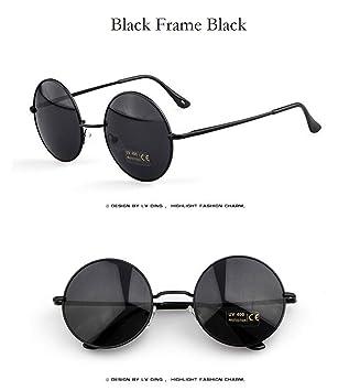 Amazon.com: Vintage Steampunk Sunglasses Round Designer ...