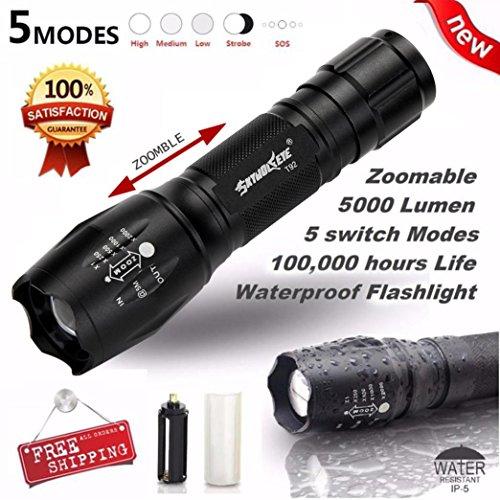 Flashlight, Tactical LED Flashlight G700 X800 ShadowHawk Bright Zoom Torch Military Grade