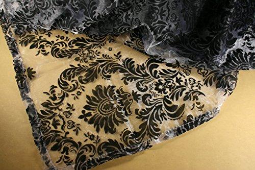 d Baroque Damask Sheer Organza Choose Table Topper or Runner (50