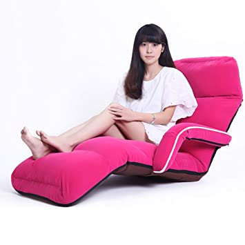 Brilliant Amazon Com Dulplay Adjustable Folding Chaise Lounge Sofa Creativecarmelina Interior Chair Design Creativecarmelinacom