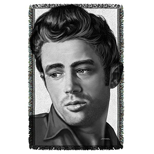 James Dean Stare Sublimation Woven Throw