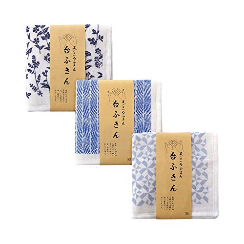 CYBERL Japanese Dish Cloth Set Of 3 (Light Weight Dishes)
