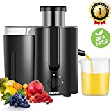 Cheap Juicer Extractor,Masticating Juicer,High Speed Juicer, BPA Free, with BPA Free Plastic Juice Cup 400W, 2000RPM by Comfee