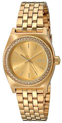 Nixon Women's A3991520 Small Time Teller Watch