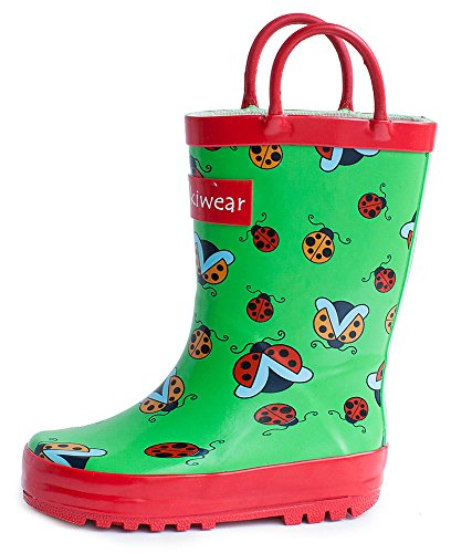 Children's Rubber Rain Boots Ladybugs