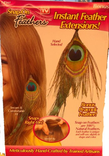 Snap Feathers Instant Feather Extensions