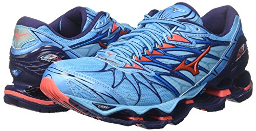 Wos Turquoise 65 Hotcoral Wave Mizuno Prophecy 7 Patriotblue Femme Chaussures verseau v1Xqn4R