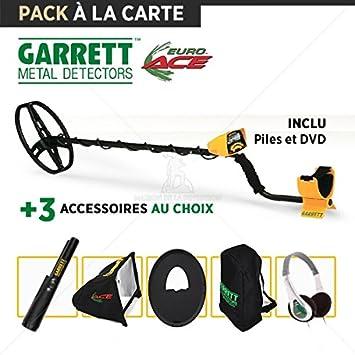 Detector de metales Garrett EuroACE: 3 accesorios diferentes: Amazon.es: Jardín