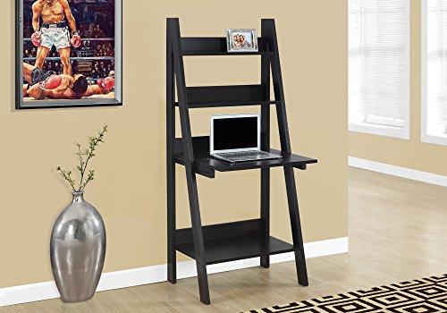 Monarch Ladder Style Computer Desk, Cappuccino, 61'' by Monarch