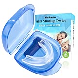 Anti Snoring Aids Snore Stopper Mouth Guard Stop Teeth Grinding Anti Snoring Bruxism Aid Stop Snoring kit With Case Box for Natural and Comfortable Sleep