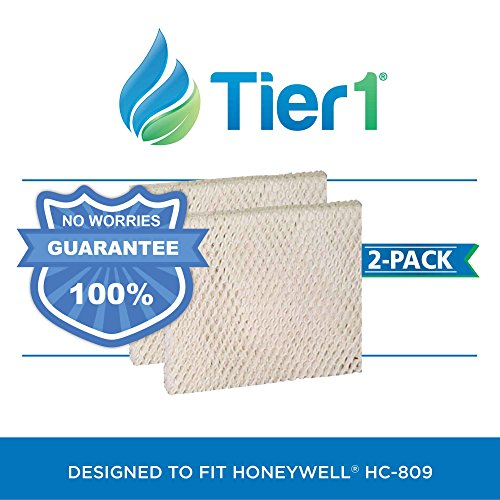 Honeywell HC-809 Comparable Humidifier Wick Filter 2 Pack