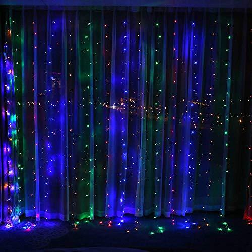 Amazon.com: IMAGE - Guirnalda de luces LED con 8 modos para ...