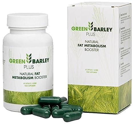 ✅GREEN BARLEY PLUS Premium - piel hermosa, cabello firme y uñas - celulitis reducida, paquete básico 60 cápsulas / 650 mg: Amazon.es: Belleza
